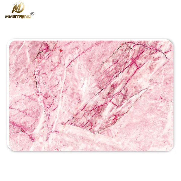 Mimiatrend Red Marble Grain Laptop Skin For Apple MacBook Air Pro Retina 11 13 15 inch Computer csae Para Notebook