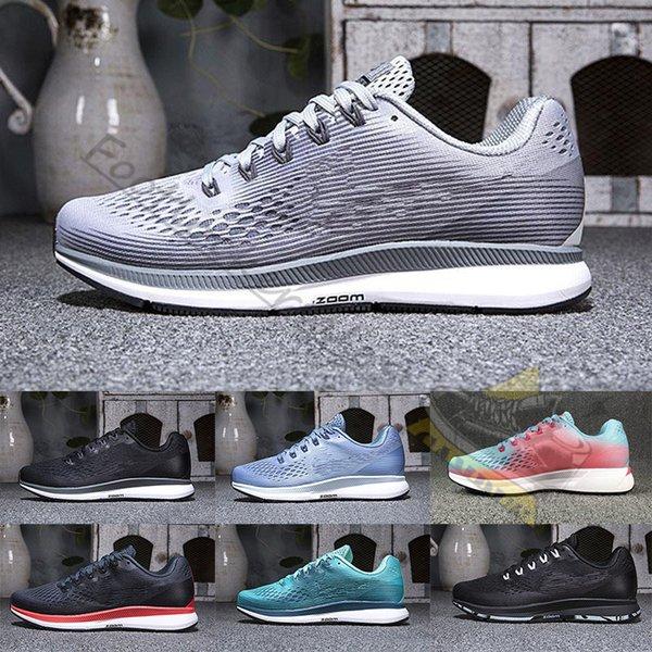 Zoom Pegasus 2019 Sneakers firmate Turbo A mala pena grigio Punch caldo Scarpe da corsa rosse nere per uomo e donna 34 Allenatore per jogging all'aperto
