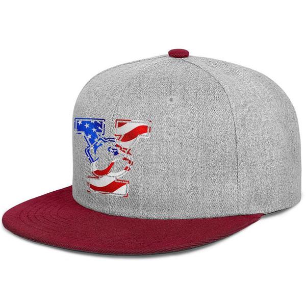 Yale Bulldogs Basketball USA flag logo men's Flat baseball hat fashion adjustable women basketball cap classic baseball cap mesh sun hats