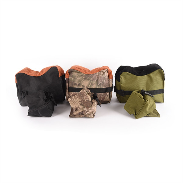 Military Sniper Shooting Rifle Bag Front&Rear Support Sandbag Outdoor Photography Hunting Target Stand Hunting Gun Accessories #841033