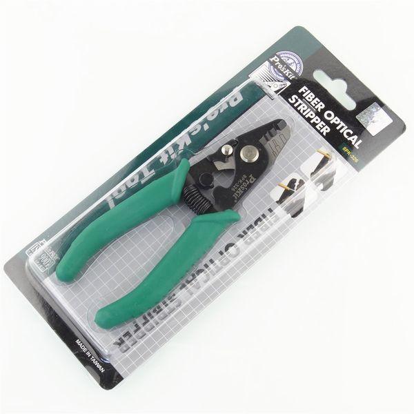 Proskit 8PK-326 clamp Pince à dénuder les pinces 8PK-326 Pince à dénuder à trois trous pour fibres optiques 8PK-326 Pince à dénuder pour fils
