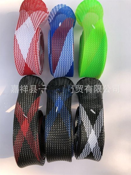 Solid Fishing Rod Protective Sheath Tear Proof Anti Wear Durable Multicolor Nylon Eco Friendly Telescopic Fold Factory Direct 4 5qlI1
