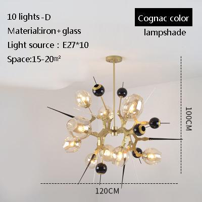 10 luces D