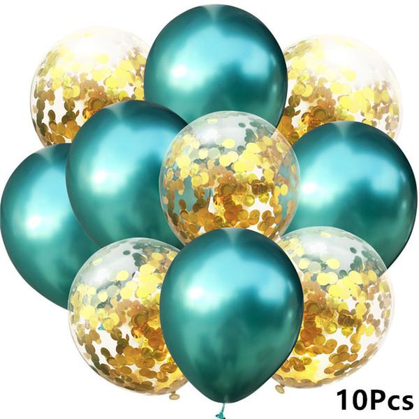 9- Metall grünes Gold