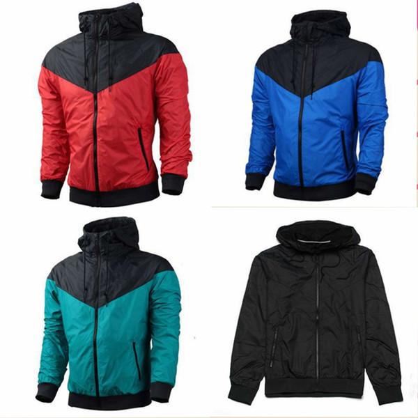 Free Shipping Men Designer Jacket Coat Luxury Sweatshirt Hoodie Long Sleeve Autumn Sports Zipper Brand Mens Clothes 5 Colour Size S-XXXL