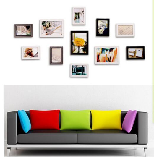 Acheter Tenture Photo Cadre Ensemble Pour Couloir Chambre Salon Decoration Murale Moderne Art Decor A La Maison Famille Photo Affichage De 10 06 Du