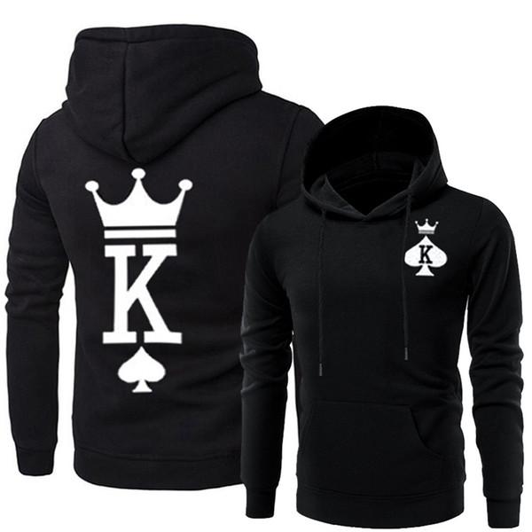 Couples Matching Clothes Men Women Queen King Hoodies Designer Hooded Sweatshirts