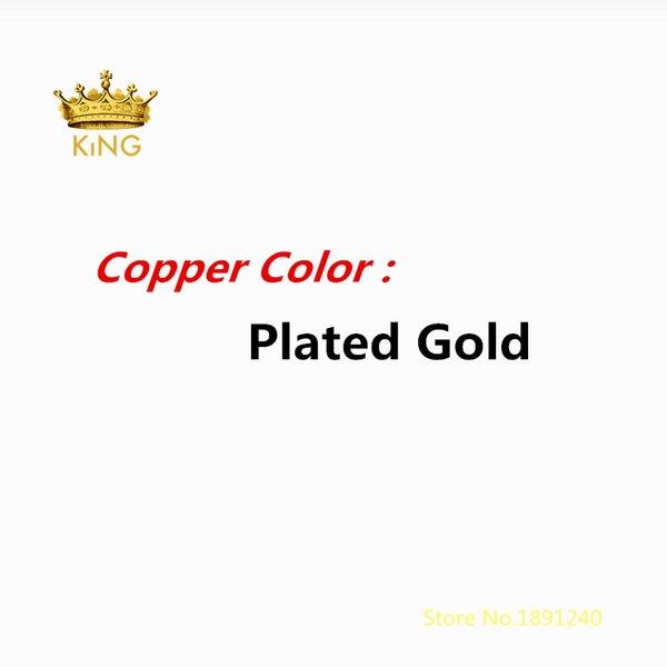 Покрытием золото