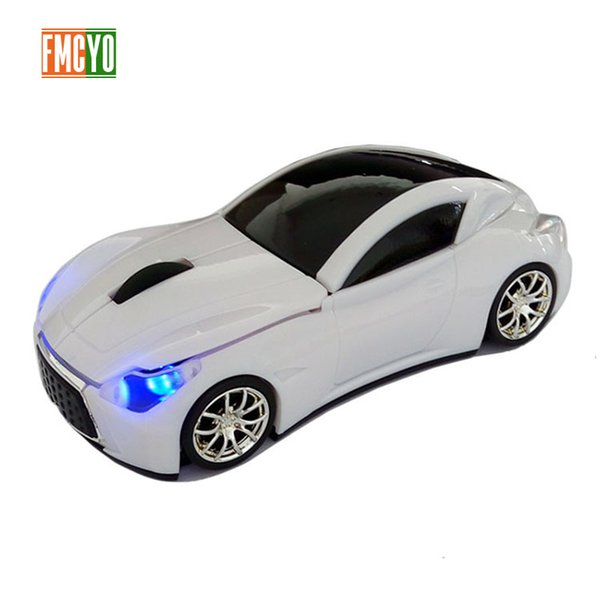 Wireless Computer Mouse Gamer Cool Mini Car Shape Mice 1600DPI Optical Gaming Mouse With USB Receiver For PC Laptop Gift