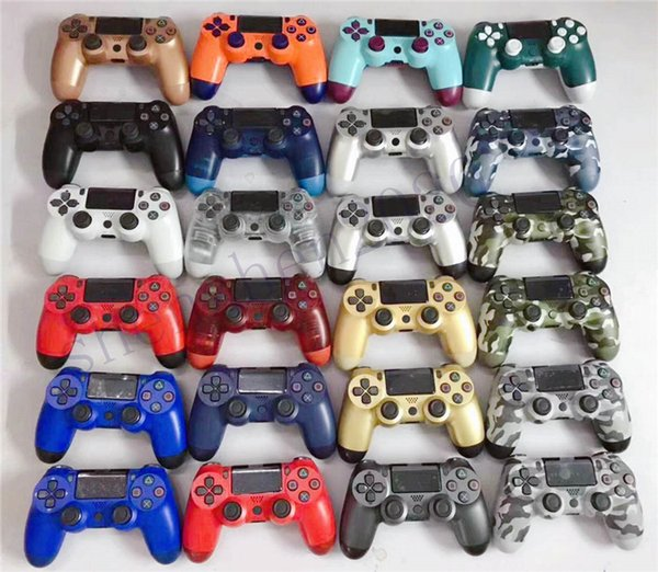 top popular Dualshock 4 Wireless Bluetooth Controller for PS4 Vibration Joystick Gamepad Game Controllers With Retail Box Top Quality 2020