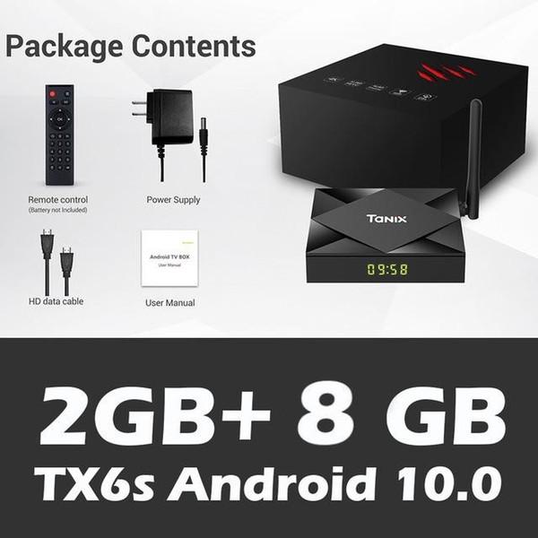 TX6s 2GB+8GB,with 2.4G wifi , no BT