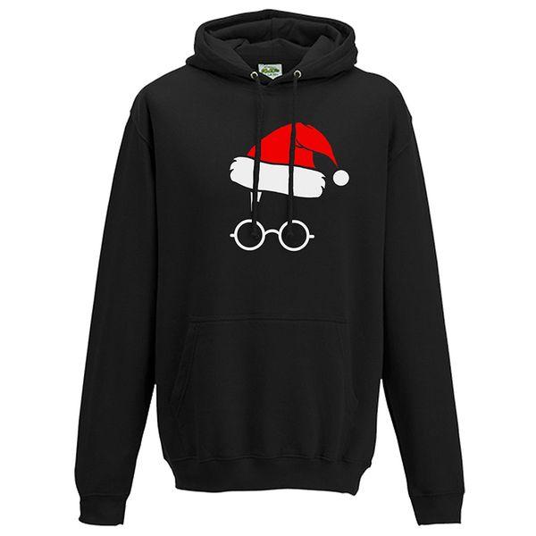 Dropshipping Christmas Day Costume Hoodies 2018 Men/Women long sleeve Santa Claus Sweatshirts Harajuku streetwear coat
