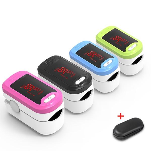 Oxímetro de pulso de dedo de alta calidad Digital LED Monitor de saturación de oxígeno en sangre médico Monitor de saturación de oxígeno en sangre SPO2 portátil