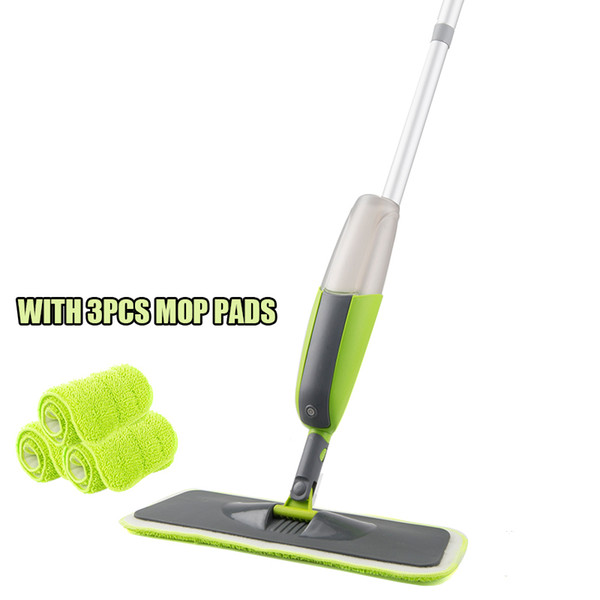 green with 3pcs pads