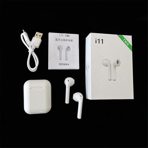 écouteurs sans fil bluetooth i11 tws bluetooth 5.0 ture stéréo écouteurs écouteurs sans fil casque avec paquet de détail