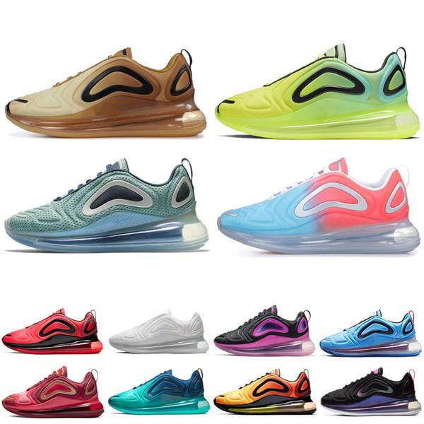 Top quality Men Sneaker Running Shoes Women Trainer DESERT GOLD Volt Easter Pack Sunrise Total Eclipse Men 2019 Sport Designer shoes
