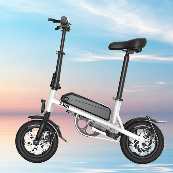 best selling 2018 HOT SALE mini folding electric bicycle 12-inch 36V THREE GEAR OPTIONAL Lithium electric folding bike FREE SHIPPING