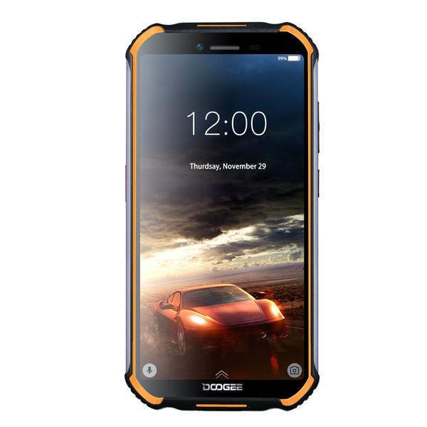 IP68/IP69K Waterproof DOOGEE S40 4G LTE 64-Bit Quad Core MTK6739 2GB 16GB Android 9.0 NFC Face ID Fingerprint GPS 4650mAh Rugged Smartphone