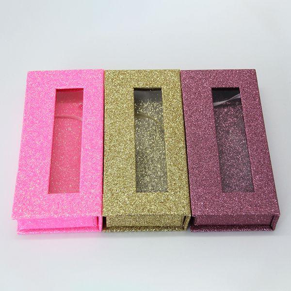 wholesale square false eyelash packaging box custom logo fake 3d mink eyelashes boxes magnetic case lashes empty box