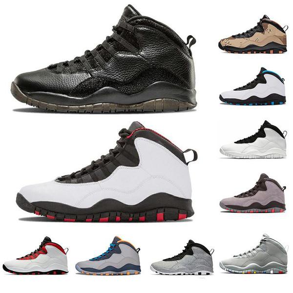 10er Jahre Basketballschuhe Zement Class of 2006 Westbrook Cool Grey Ich bin zurück Desert-Camo Herren Sneaker 10er 10 Sport Sneaker 40-47
