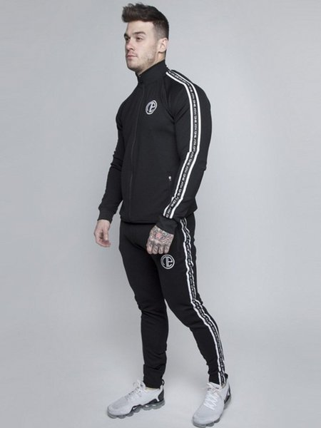 2019 Men Running Suits Plus Size Mens Sports Suits high quality Men Tracksuit Sport Running Jogging Sets