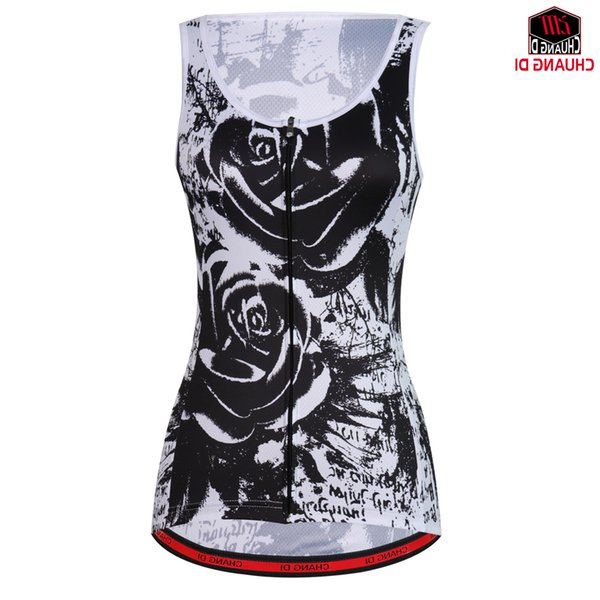 Summer Women Cycling Clothing Sleeveless Jersey Mountain Riding Sportswear Jersey Cycling Vest Bike Jersey Maillot Ciclismo