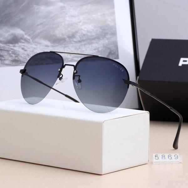 Óculos de sol Men Vintage alumínio óculos polarizados clássico Marca Sun óculos Coating Lens Driving Shades For Men / Wome