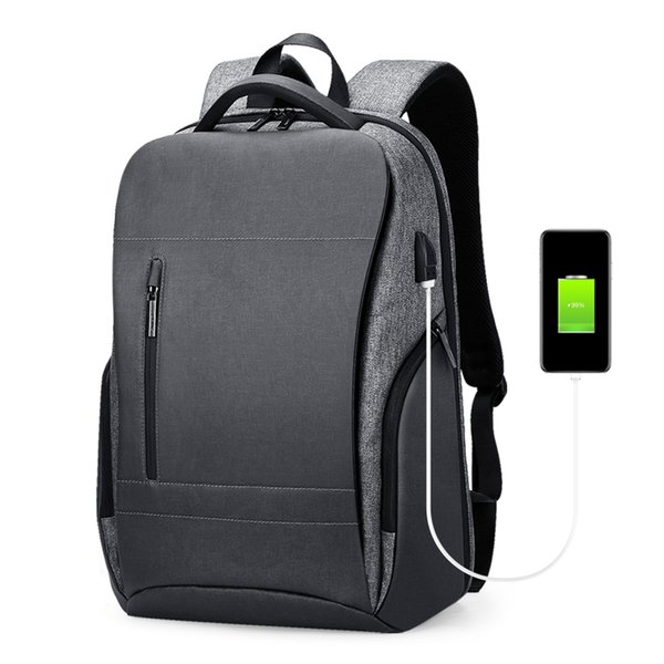 Men Business Travel Backpack USB Charging Dry And Wet Separation Multi-Function Large Capacity Backpack 15.6 Inch Laptop Bag