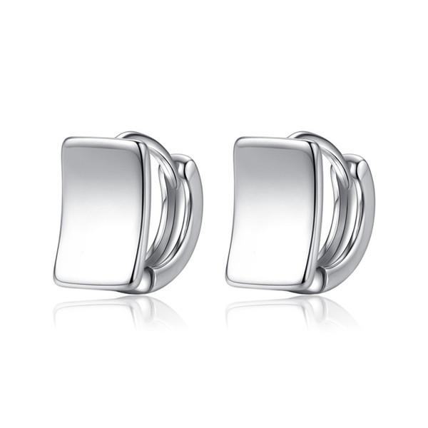 Korean Ladies Copper Alloy Geometric Gold Stud Earrings For Women 2019 Earings Fashion Jewelry Luxury Design