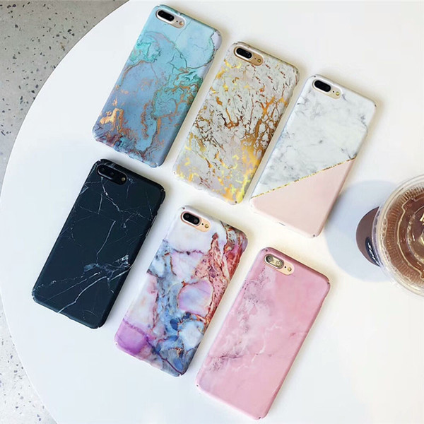 Hard pc marble ca e for iphone x max xr x 10 fa hion matte phone ca e for iphone 7 7plu 6 6 8 plu