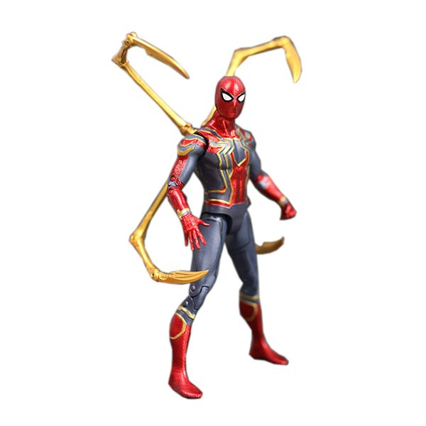 Iron Spider Variant Action Figure 1/8 Scale Painted Figure Avengers 3 Infinity War Iron Spider Pvc Figure Toy Brinquedos Anime Y19062901