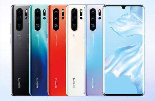 Original Huawei P30 Pro Handy Kirin 980 2.6 GHz Android 9.1 6,47 '' OLED 2340X1080P IP68 NFC 4 Kameras 40MP