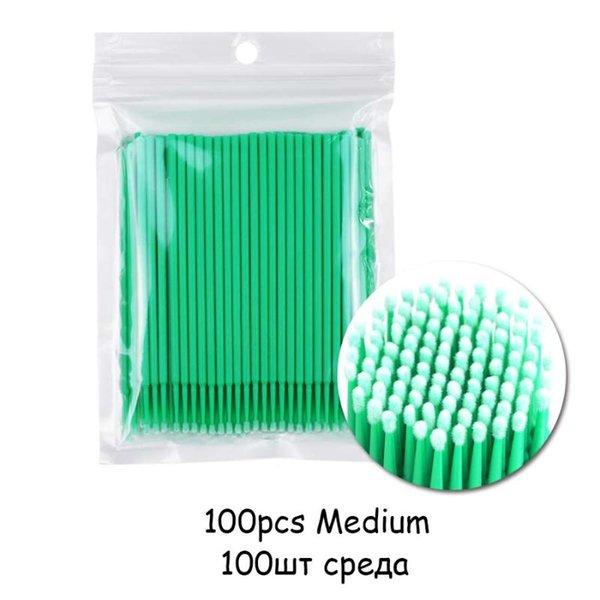 100pcs Green