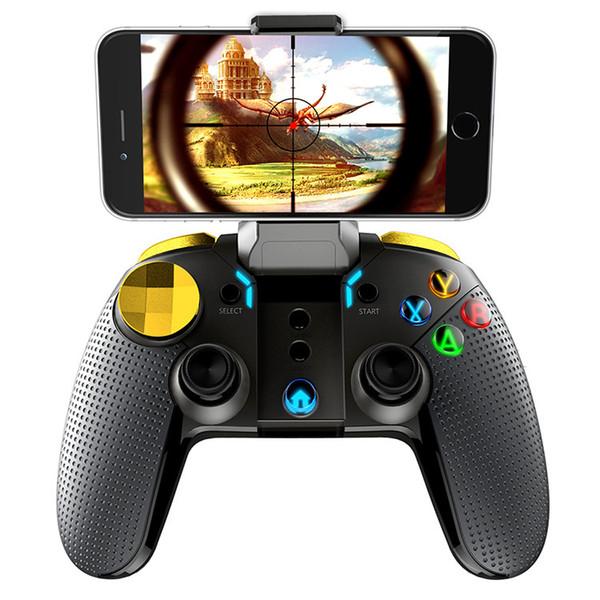 Ipega Pg-9118 Contrôleur de jeu Bluetooth intelligent Gamepad Jeu de console de manette de jeu sans fil avec support télescopique pour Smart Tv / Phon