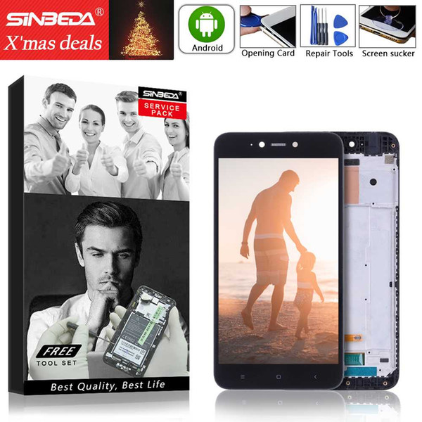 """Sinbeda 5.5""""LCD Display For XIAOMI Redmi Note 5A Touch Screen With Frame Digitizer Assembly for Xiaomi Redmi Note 5A LCD Display"""