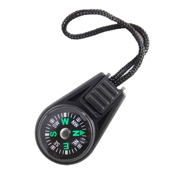 2018 Key Chain Mini Compass Gear Outdoor Camping Hiking Finding Way Hiker Navigator Utility Gear Survival Pocket Compass Tool