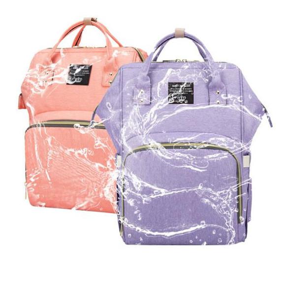 Hot Baby Diaper Bag Large Capacity Waterproof Nappy Bag Kits Mummy Maternity Travel Backpack Nursing Handbag