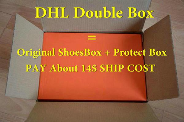 DHL Double Box paga $ 14
