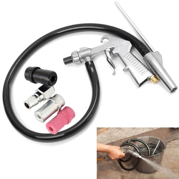 Air Sandblaster Jateamento Pistola de Explosão + Bicos + Conector + Kit de Ferramentas Derusting Tubo Jato de Jato De Areia Industrial