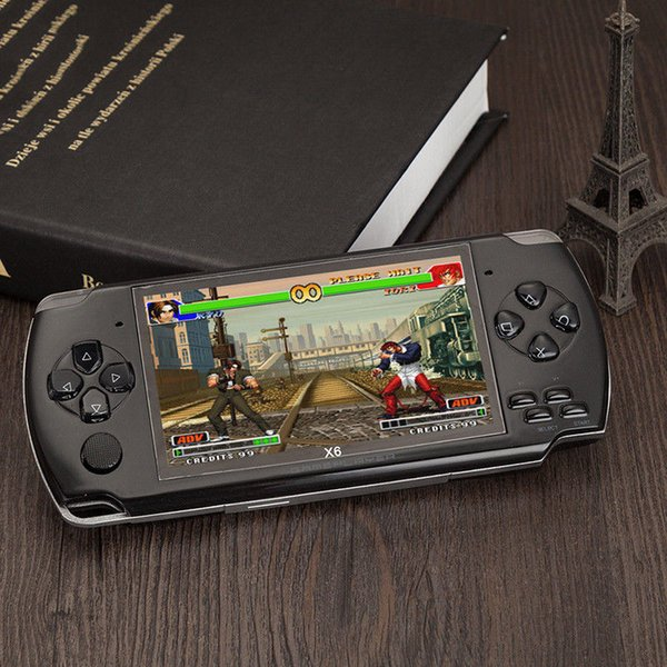 handled Game Console 4.3 inch screen mp4 player MP5 game player real 8GB support for psp game,camera,video,e-book