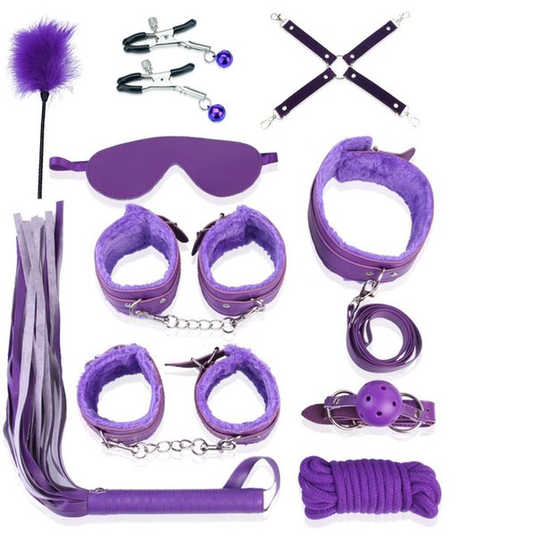 8Purple 11 piezas Set