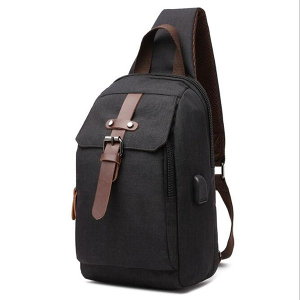 Hot 2019 New Simple Men Trunk Bags Small Clutch Cute Military High Quality Canvas Handbags Travel Bag For Male Bolsas Qq069