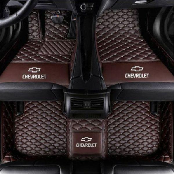 2010-2017 Chevrolet Camaro tüm modeller lüks özel su geçirmez paspaslar