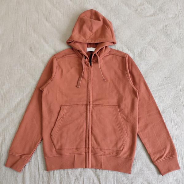 19FW ZIP MOLETOM alta qualidade Casual Sweater Cardigan Vintage confortável homens casal mulheres Designer Hoodies HFXHWY104