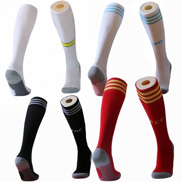 2019 2020 milli takım Brezilya Arjantin meksika usa futbol yetişkin Çocuklar Çorap Diz Yüksek Kalın futbol Spor Çorap
