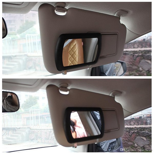 Led Lights Car Sun Visor Mirror Makeup Mirror Vanity Mirror Auto Make Up Sale Sun Visors