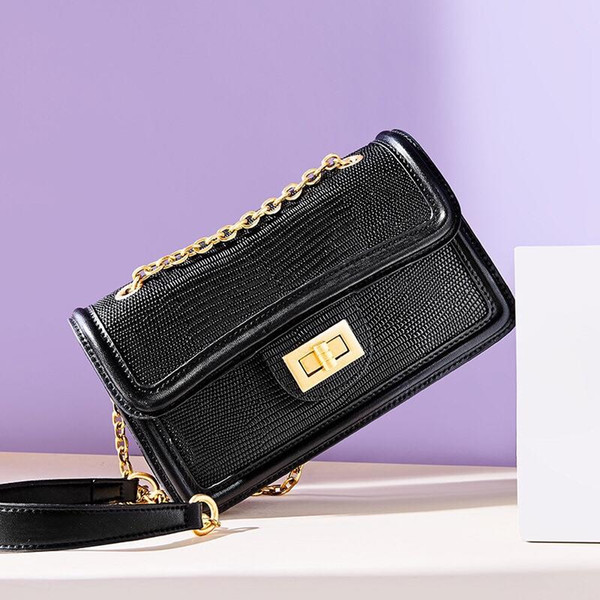 Women's handbag classic small of fashion hot mom Lady chain bag elegant bulk corrugated woman Leather Shoulder purse handbags bag 118