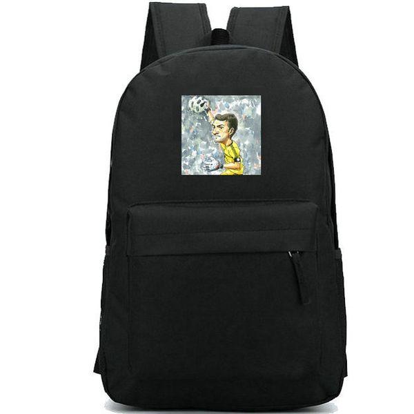 Casillas backpack Iker Fernandez football star daypack Soccer print schoolbag Durable rucksack Casual school bag Outdoor day pack