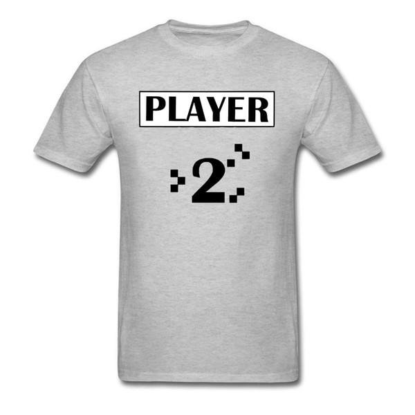 Game Over Game Endgame Homens novo jogador 2 Board jogo engraçado camisetas vintage cinzento Vídeo camiseta roupas personalizadas Atacado