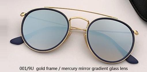 001/9U gold - mercury gradient mirror
